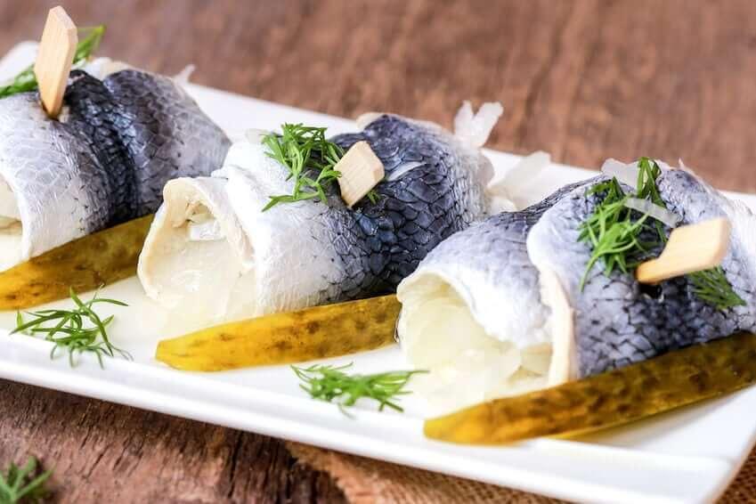 Darf ich Rollmops in der Schwangerschaft essen?